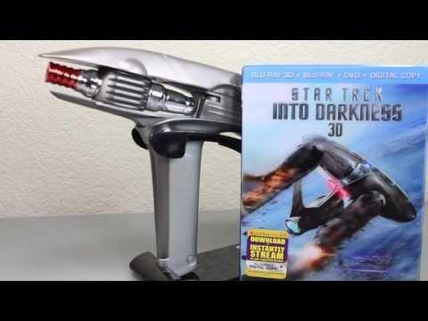 Star Trek Into Darkness Blu-Ray 3D Combo Pack & Starfleet Phaser Movie Set Review