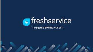 Videos zu Freshservice