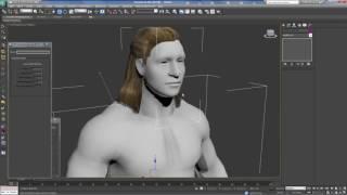 Добавляем физику к волосам в скайриме через 3Ds Max