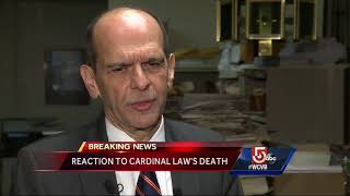 Clergy sex abuse victims react to Law's death
