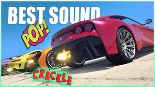 GTA V - Top 7 Best Sounding Cars! [2020]