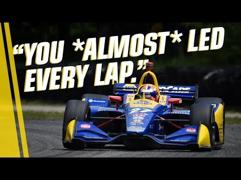 Team Radio: Alexander Rossi after dominating Road America