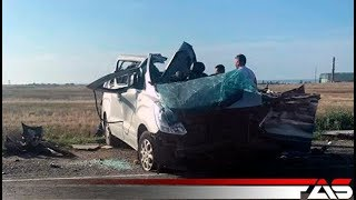 За Приморским сразу две аварии. 25.07.2018