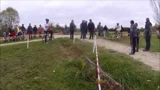 preview picture of video '2014 11 11 cyclo cross SAINTES'