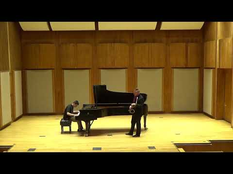 Composition by Jimmy Rowles Tucker Antell - Tenor Sax Jose Soto - Piano Honors Competition Concert at the Edward M. Pickman Hall