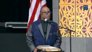 Stevie Wonder At African American Museum Opening