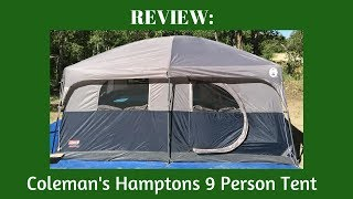 REVIEW: Coleman's 9 Person Hamptons Tent