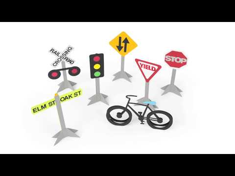Traffic Signs | Ellison Education Lesson #12168
