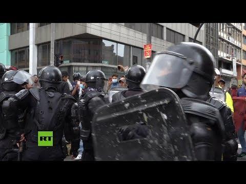 Video: Estallido social en Ecuador 20 mil indígenas protestan en Quito