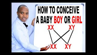 HOW TO CONCEIVE A BOY, WHEN TO GET PREGNANT TO A GIRL who determines the gender, is it man or woman