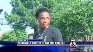 Teen accomplishes dream and earns himself enough money to pay for college