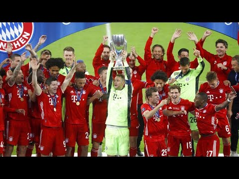 Le Bayern Munich remporte sa deuxième Supercoupe d'Europe