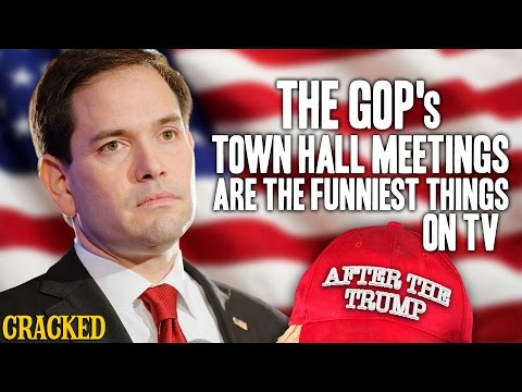 The GOP's Town Hall Meetings are the Funniest Things on TV - After The Trump #4
