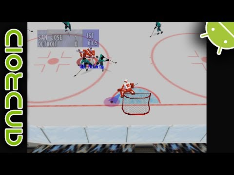 NHL Breakaway '98 | NVIDIA SHIELD Android TV | Mupen64Plus FZ Emulator  [1080p] | Nintendo 64 - Free Emulator