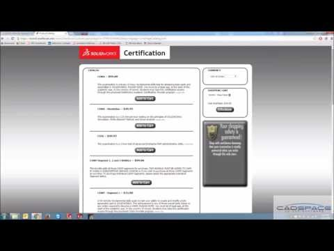 Redeeming Free SolidWorks Certifications - YouTube