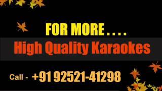 Lal Chhadi Maidan Khadi karaoke - YouTube
