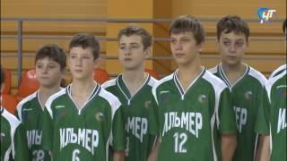 В Великом Новгороде проходит зональный этап всероссийских соревнований по баскетболу