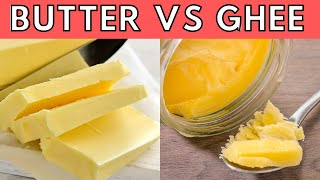 Butter vs Ghee WHICH IS BEST? (+ How to Make Your Own Ghee at Home!)