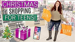 CHRISTMAS SHOPPING FOR OUR TEEN DAUGHTERS!