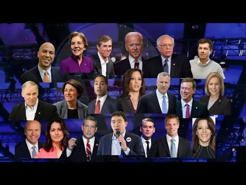 The Democratic race for the White House kicks off in earnest this week as 20 of the contenders square off in the first set of high-stakes primary debates this Wednesday and Thursday.  (June 25)