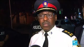 """Approximately 15 people have been hit with gunfire,"" says Toronto police chief"