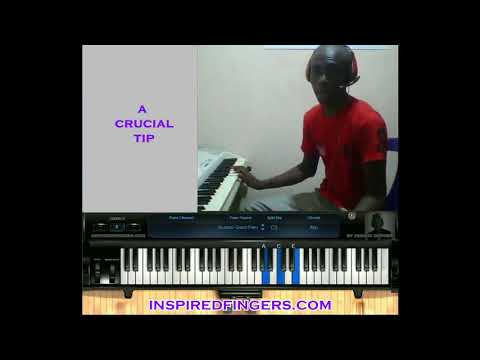 We give you glory Lord Tutorial(nigerian worship worship)- Inspiredfingers Nigeria