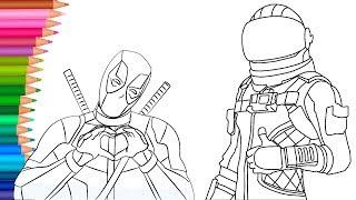 Deadpool Dibujo Para Colorear Wwwincreiblefotoscom