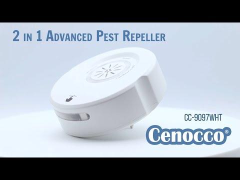 Cenocco Home CC-9097:2 in 1 Advanced Ultrasound ... - YouTube