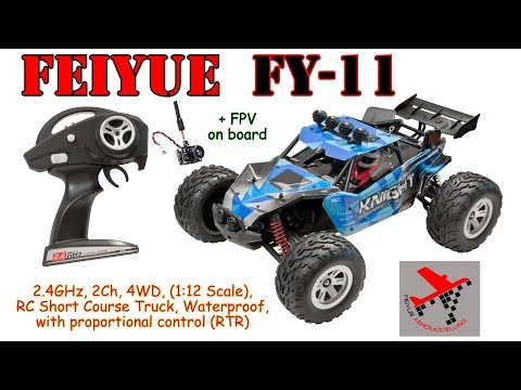 Feiyue FY-11 (description, outdoor riding and FPV)