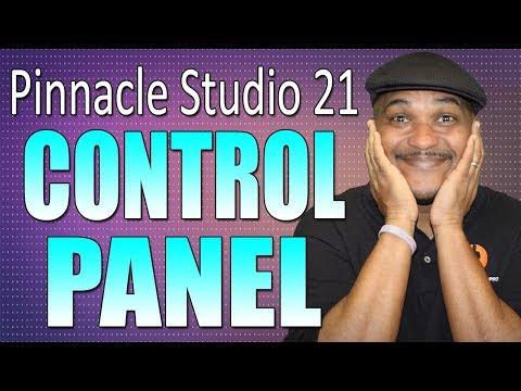 Pinnacle Studio 21 Ultimate | Control Panel Tutorial (Work Flow Series #1)