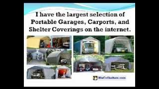 HisCoShelters Intro to Portable RV Garage Shelter Carport
