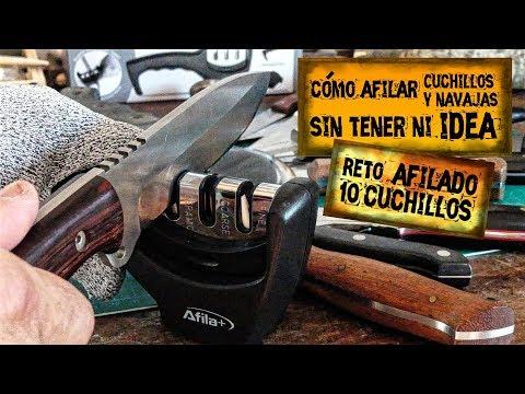 🔪Cómo Afilar Cuchillos y Navajas Sin Tener Ni Idea   😱 Reto de Afilado de Cuchillos