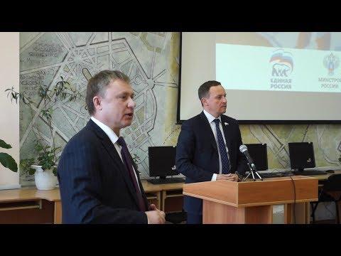 Встреча в СИБАДИ с депутатом Государственной Думы РФ Сидякиным