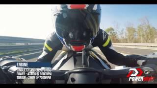 2017 KTM RC 390 : 0-100 : PowerDrift