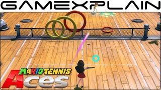 Mario Tennis Aces 3.0 - Ring Shot Co-op Gameplay