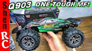 Hosim Q903 1/16 brushless 4x4 RC truck TESTED HARD!