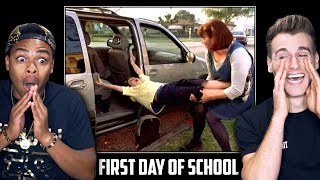 HILARIOUS FIRST DAY BACK TO SCHOOL (Funniest Reactions)