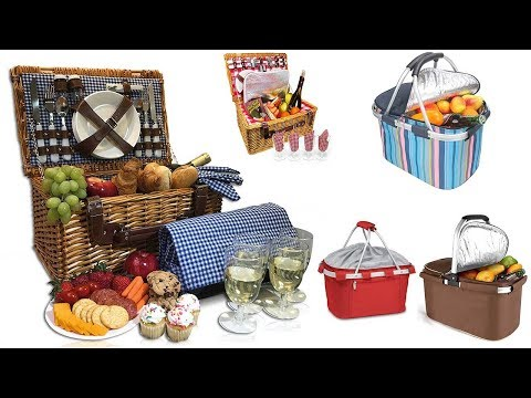 Top 7 Best Picnic Baskets 2018 Mp3