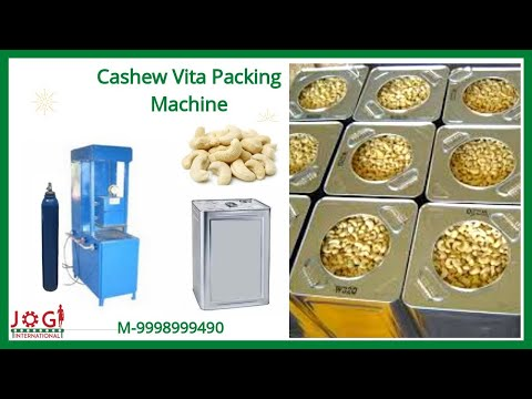 Cashew Vita Packing Machine