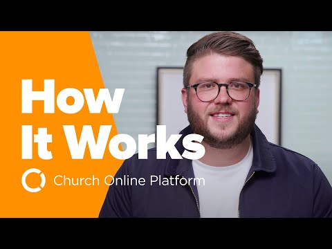 How To Do Online Ministry with Church Online Platform