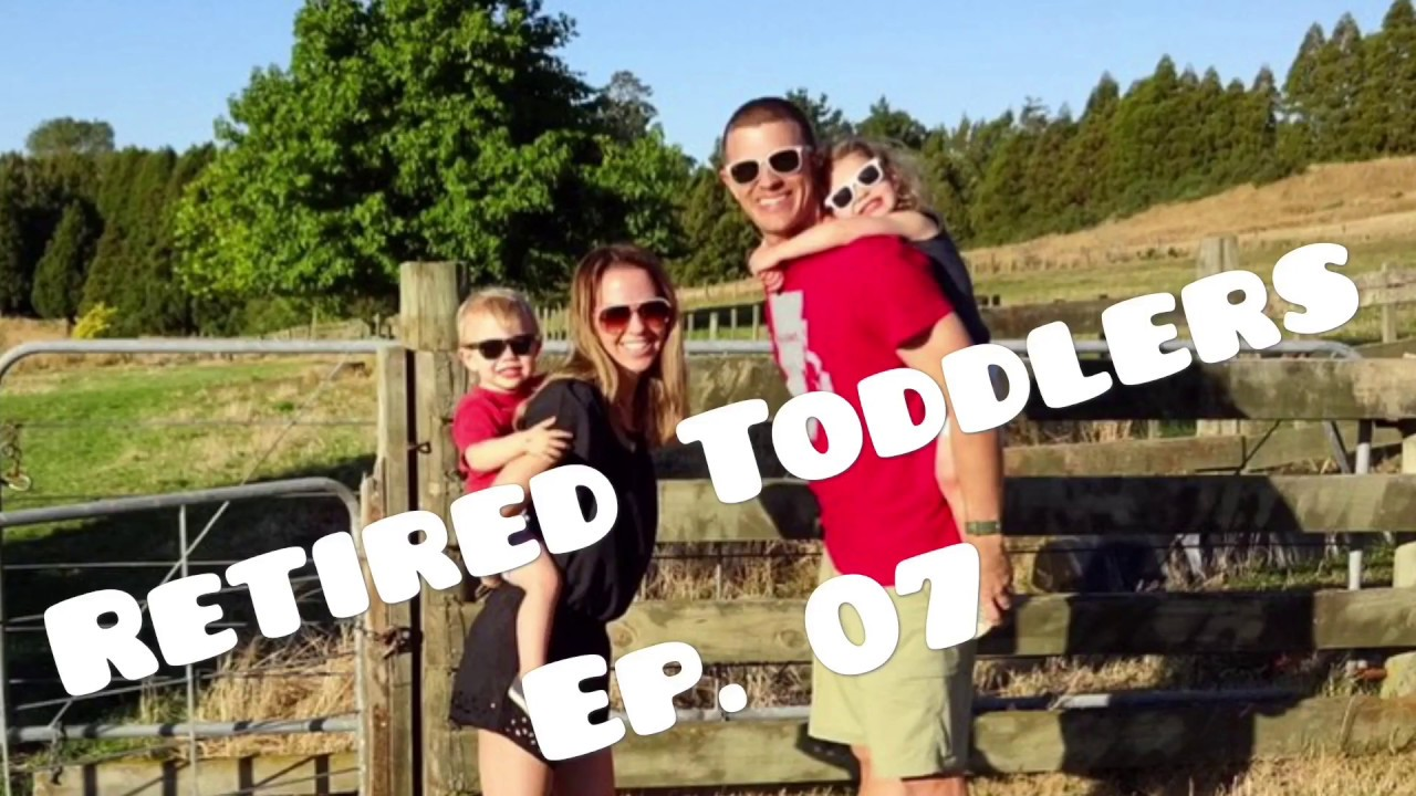 Retired Toddlers Travel to Rotorua & Stay on a Farm Cottage