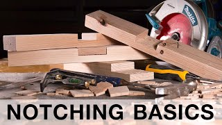 Cutting Notches With a Circular Saw