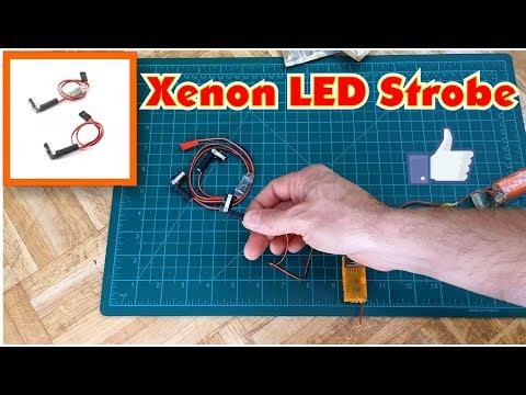Excellent Xenon LED Strobe Flashlight