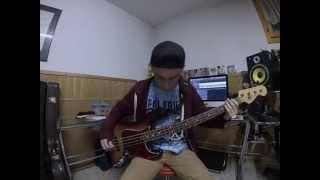 Chunk! No, Captain Chunk! - Restart (bass cover)
