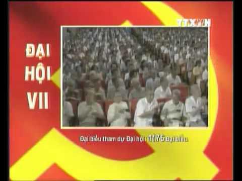 Các kỳ đại hội Đảng toàn quốc
