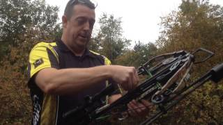 Learn to shoot a crossbow at Ed's Archery