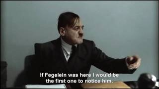 Hitler is informed Fegelein is here