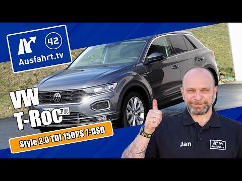 2021 Volkswagen T-Roc Style 2.0 TDI 150PS 7-DSG - Kaufberatung, Test deutsch, Review, Fahrbericht