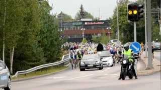 preview picture of video 'Tour de Helsinki 2012, Espoo part 1'