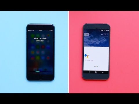 Google Assistant vs Siri! (2016)
